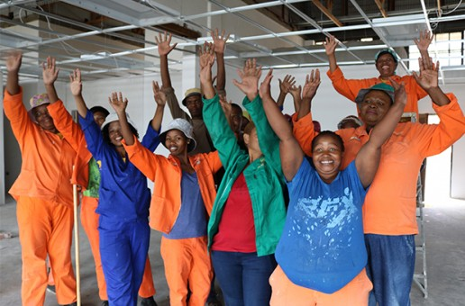 EPWP participants rise to the occasion