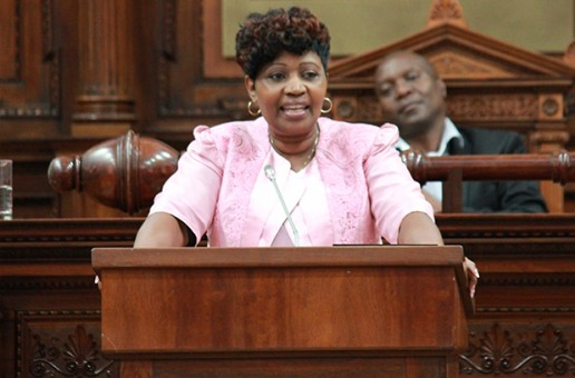 The Raadzaal was abuzz as MEC Kotzee delivered the 2017/2018 Budget