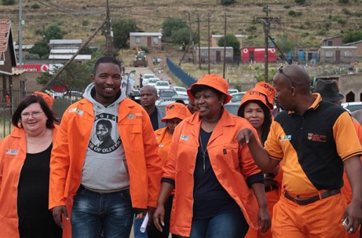 District based operation Hlasela Campaign records a good start