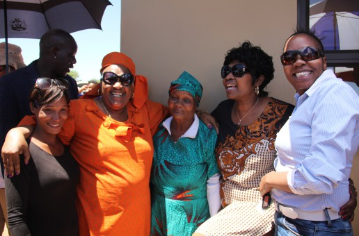 MEC Kotzee and premier Ntombela brought an early Christmas to the community of Luckhoff